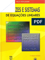 Matrizes e Sistemas de Equações Lineares - Nilo Kühlkamp