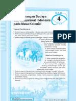 4. Perkembangan Budaya Dan Masyarakat Indonesia Pada Masa Kolonial
