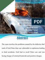 Pinto Fire Case Analysis