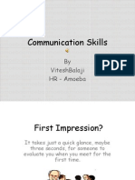 Communication Skills -Amoeba