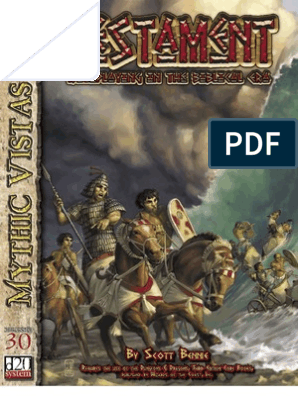 Mythic Vistas - Testament - Roleplaying in the Biblical Era