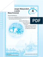 4. Perkembangan Masyarakat Indonesia Pada Masa Kolonial