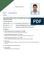 CV Saad Bin Sharf