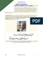 Allama Iqbal's Predictions for 21 st century