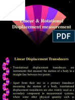 Linear and Rotational Displacement Measurement