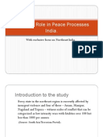 Women's Role in Peace Processes India