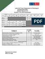 Fall 11-13-3rd Sem ISBE Permanent Class Schedule