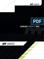Catalog DTSwiss Low 2012 Rattaosad