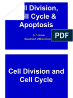 SC Kundu_Cell Division, Cell Cycle & Apoptosis (Two Lectures for Sci of Liv Sys-Autumn 2011)