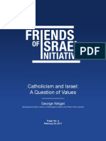 Catholicism and Israel a Question of Values