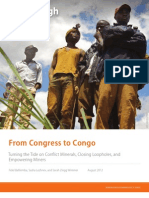From Congress to Congo—Turning the Tide on Conflict Minerals, Closing Loopholes, and Empowering Miners
