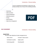 01-02-Introduction and Personal Selling