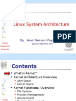 Linux System Architecture