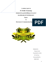 A Seminar Report on 5G
