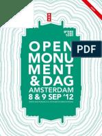 Amsterdam - Open Monumentendag 2012
