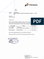 Jadwal Pembekalan Aspek HSE Kontraktor II