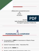 O&M of HVDC Station_PowerGrid India