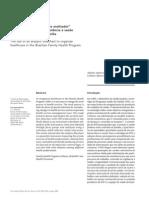 A utilização do _fluxograma analisador_  na organização do processo de trabalho do PSF