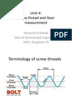 ScrewThread&GearMment