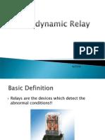 Electrodynamometer Relay