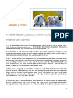 Brochure - New Revelation - Messages for Animal Lovers