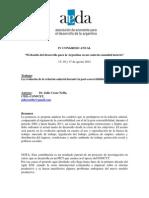 La evolución de la relación salarial durante la post-convertibilidad (2002-2010) Julio César  Neffa