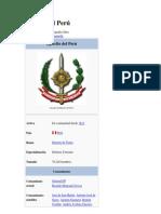 Ejército del Perú informacion