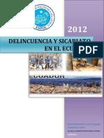 Delincuencia y Sicariato en El Ecuador (1)