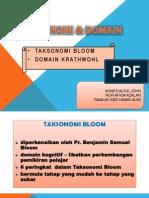 Taksonomi & Domain