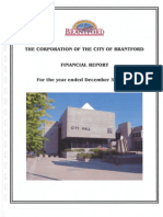 Brantford 2011 Financial Reports