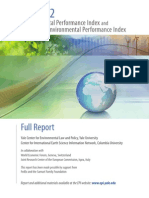 Enviromental Performance 2012 Epi Full Report