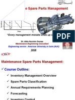 021 Maint Spare Parts Management 31 01 08