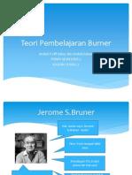 Teori Pembelajaran Burner