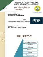 SEGURIDAD INFORMÁTICA VS SEGURIDAD DE INFORMACIÓN