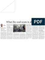 What is Coal Scam is All About