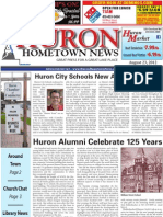 Huron Hometown News - August 23, 2012