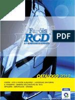 RCD CATÁLOGO GERAL 2012
