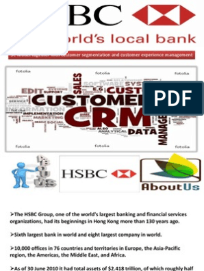 Crm-HSBC | Hsbc | Customer Relationship Management