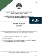 Pmr Trial 2012 Bi (Kedah) Q&A