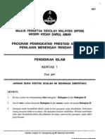 Pmr Trial 2012 Pi1 (Kedah) Q&A