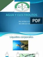 Agua y Electrolitos.