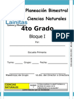 4to Grado - Bloque 1 - Ciencias Naturales