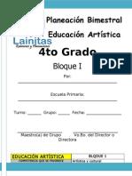4to Grado - Bloque 1 - Educación Artística