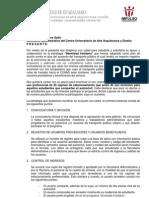 """IMPULSO """"Movilidad Solidaria"""" Oficio a Secretaría Administrativa"""