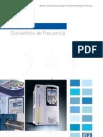 WEG Cfw 11 Convertidor de Frecuencia 50021213 Catalogo Espanol