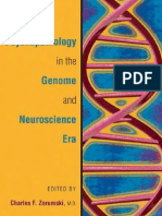 Psicopatology in the Genome