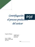Monografia centrifugado del azucar