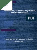Formulación y Evaluación de proyectos sociales comunitarios(m)