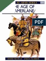 """Age of Tamerlane"" Osprey Publishing , David Nicolle Angus McBride"