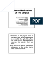 Microsoft PowerPoint - Defense Mechanisms of the Gingiva[Compatibility M